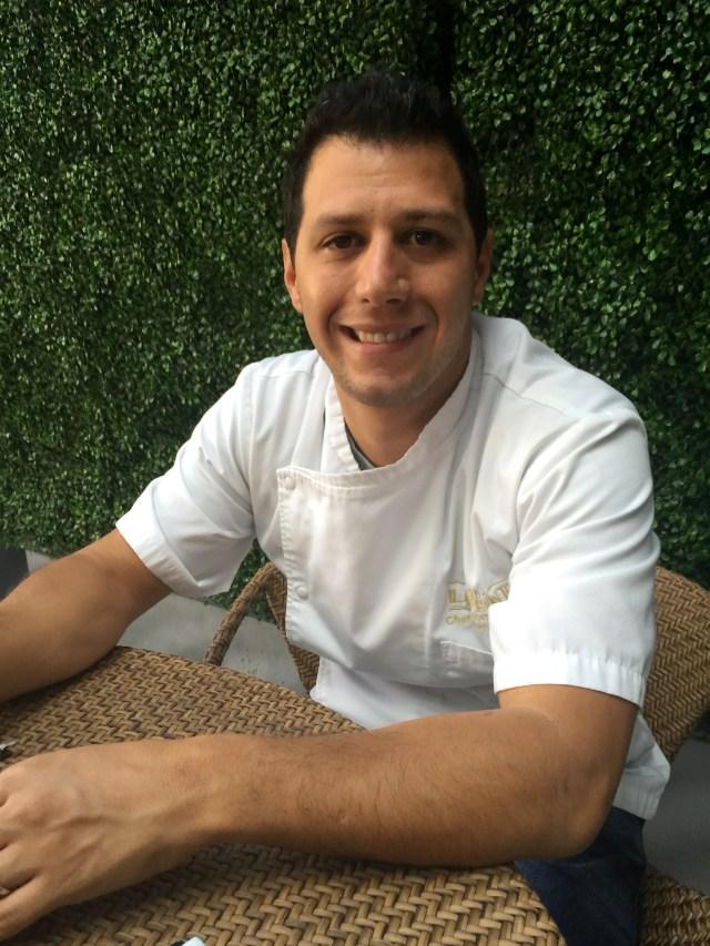 Chef Santiago Gómez