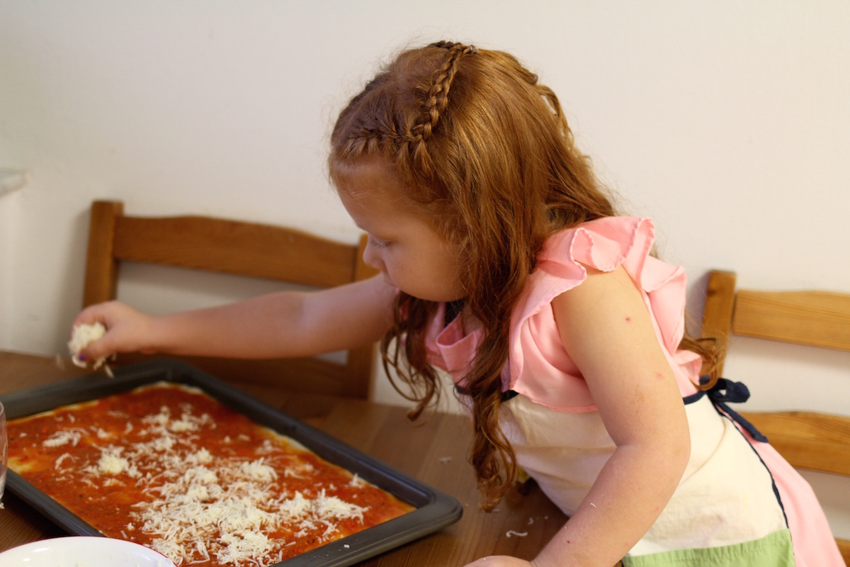 8 tips para una noche de pizza con niños / 8 tips for pizza night with kids