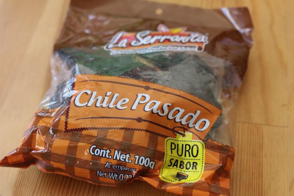 Chile pasado estilo Chihuahua