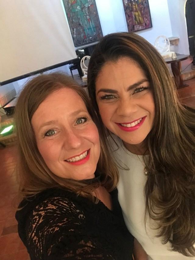 Ana Cristina Enríquez y Gianny Liranzo