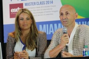 Carla Goyanes y Modesto Lomba
