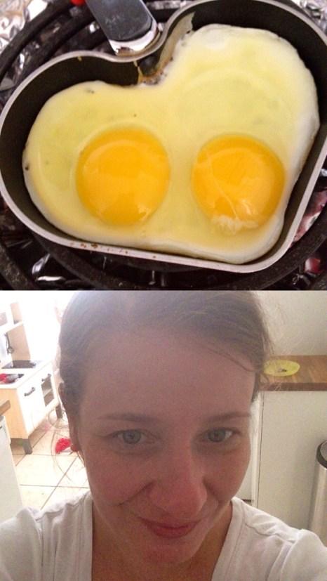 ¡Preparando el desayuno!