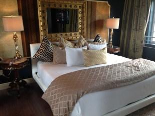 Vista de la hermosa suite en el penthause del Riviera.