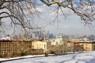 Vista desde Sunset Park, en Brooklyn.