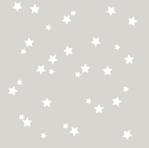 Csillagok falmatrica
