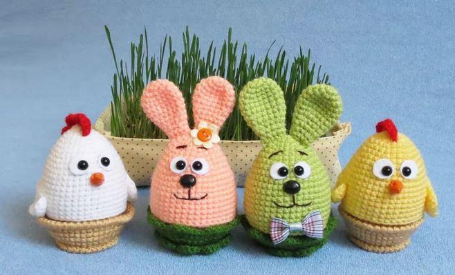 amigurumi örgü oyuncak çatlak yumurtalar zeytin 🤗   Örgü ...   399x658