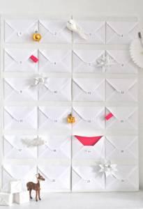 Adventni koledar iz ovojnic