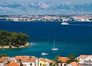 Pogled na Zadar.