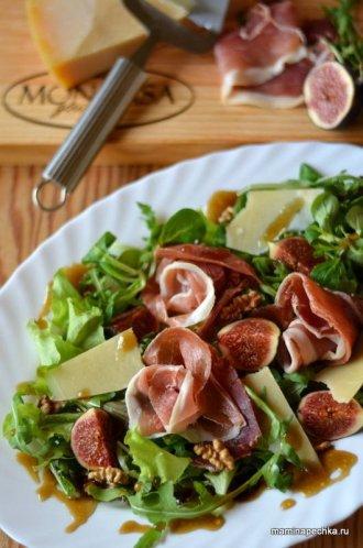 Салат с хамоном