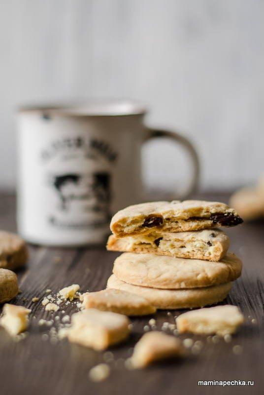 Домашнее масляное печенье