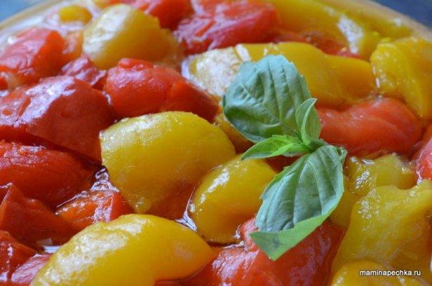 салат из печёного перца