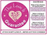 Love it guarantee