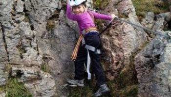 Klettersteig Kitzbühel : Kinder klettersteig mayrhofen: kids friendly rock climbing in tirol