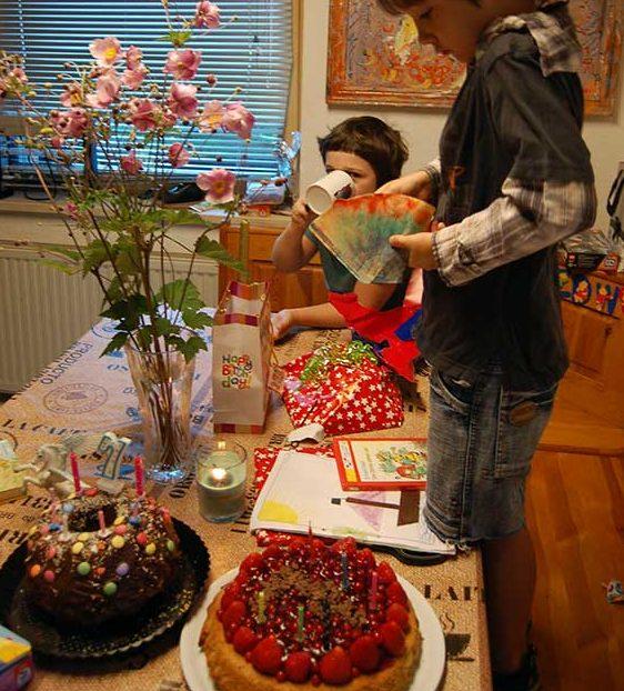 Sieben Jahre Zwillinge Wir Feiern Geburtstag Mami Rocks