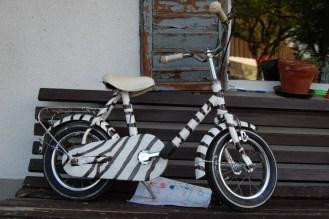 Abnehmen mit zuckerfreier Ernähung, Yoga und Bewegung - erstes Fahrrad