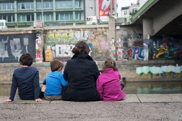Fotoshooting mit Kindern Miriam blitzt