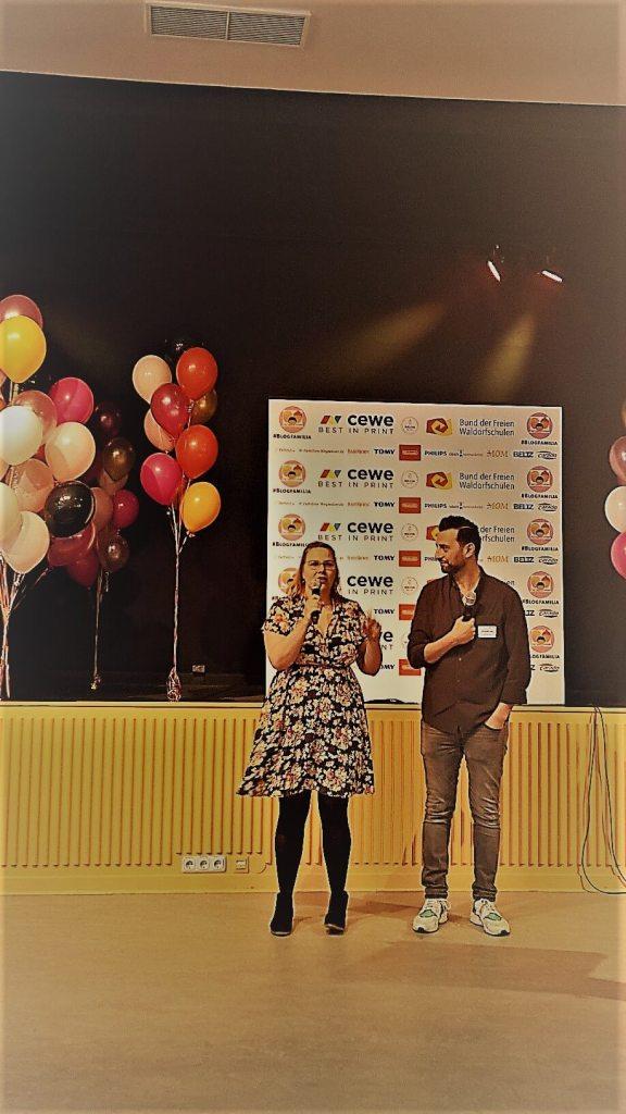 Komfortzone verlassen - die Welt entdecken - neue Menschen kennenlernen auf der BLOGFamilia 2017 in Berlin