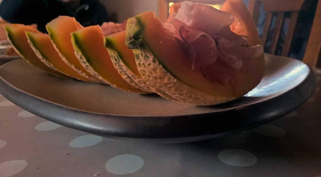 Homeoffice in den Sommerferien: Lecker Prosciutto e Melone