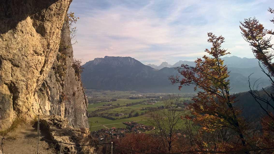 Wanderung zum Grafenloch: Kraft tanken im Herbst