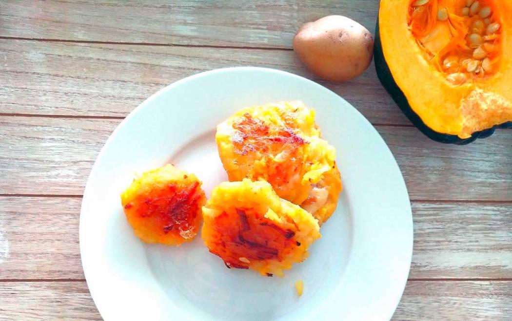 Essensreste verwerten: Variables Kartoffel-Kürbis-Puffer-Rezept
