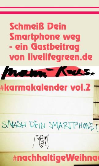 Schmeiß Dein Smartphone weg - Smartphone ade - digitale Auszeit