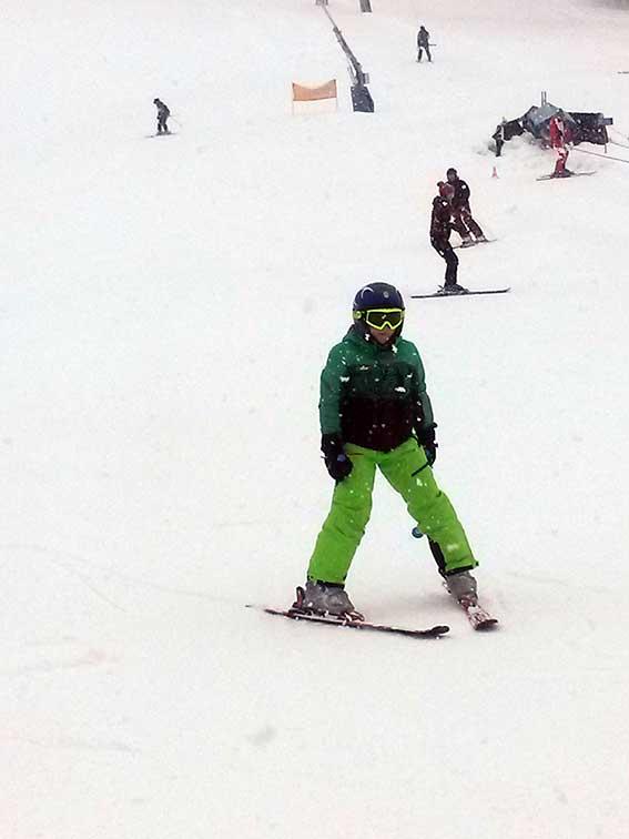Skifahren mit Kindern im Tiroler Unterland
