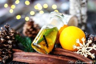 Selbstgemachte Weihnachtsgeschenke:Winterzauberöl DIY von Mit Liebe handgemacht: Körperöl für gepflegte Haut