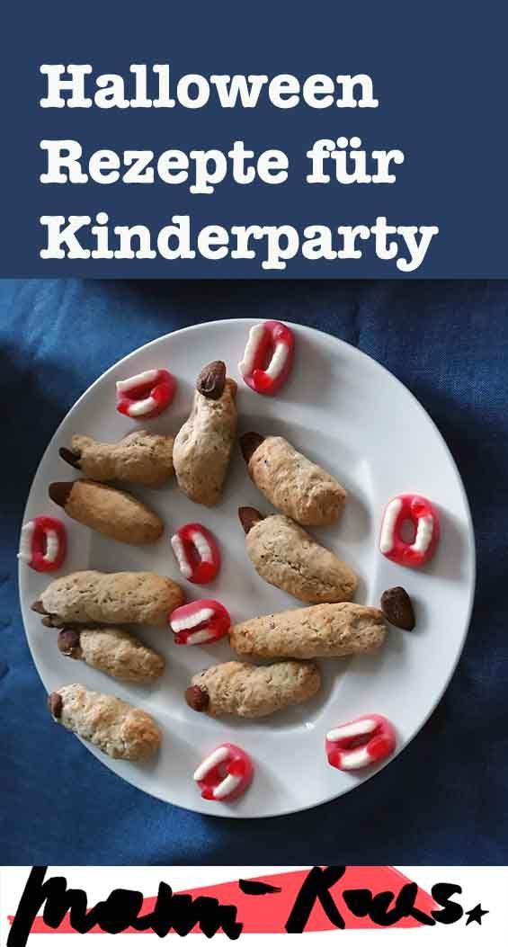 Halloween Rezepte und Ideen für die Kinderparty