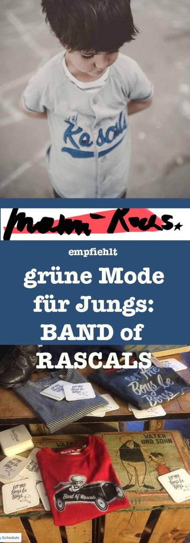 Grüne Jungsmode: Band of Rascals