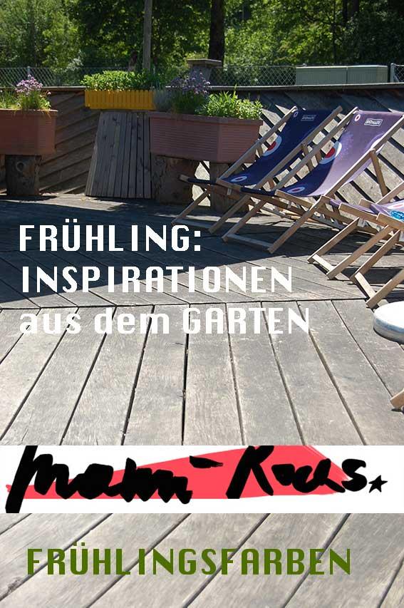 Inspiration FRÜHLING - Frühlingsfarben