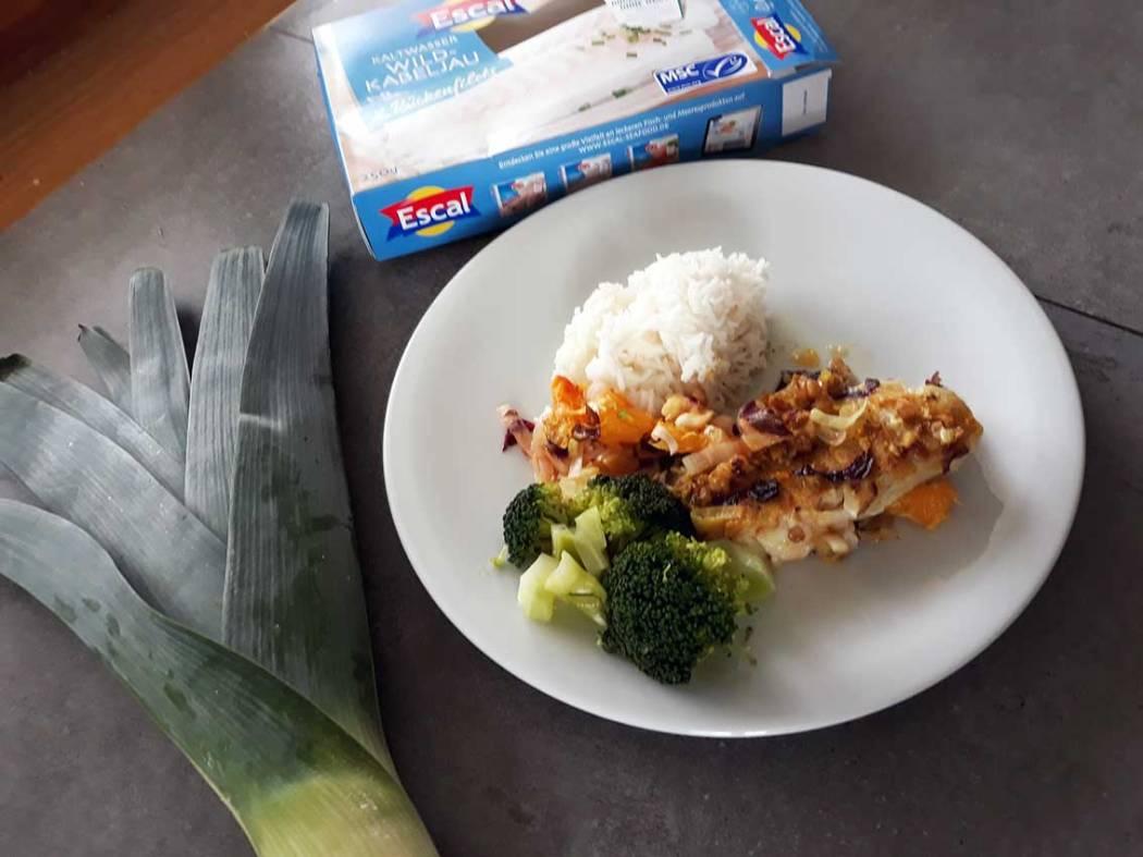 Gesunde und nachhaltige Fisch Rezepte mit Kabeljau