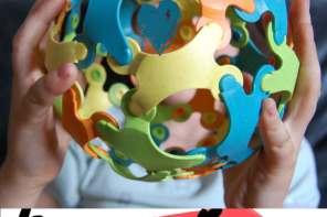 Kreatives, nachhaltiges Spielzeug für die Feinmotorik