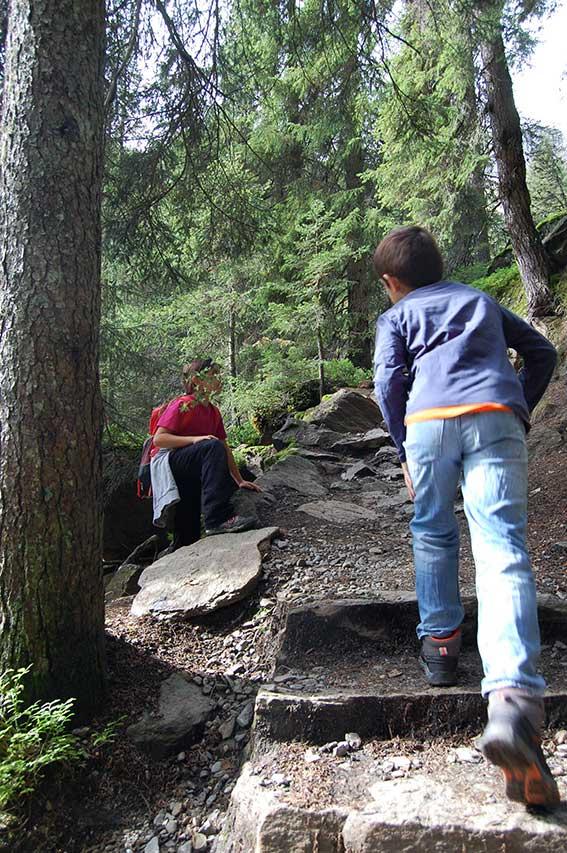 Wandern mit Kindern im Ridnauntal