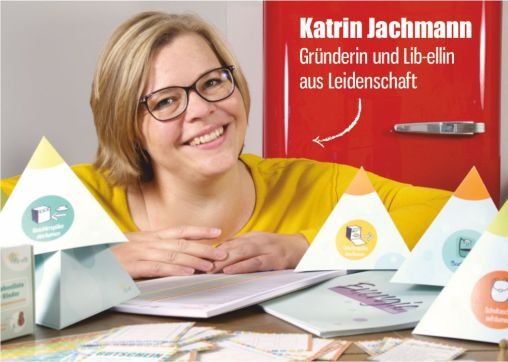 Auch mal an sich denken: Lib-elle Gründerin Katrin Jachmann im Interview