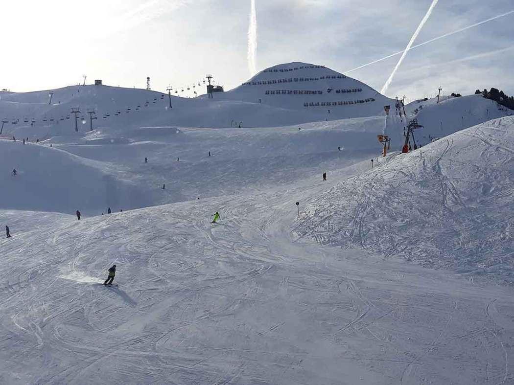 Auszeit auf Skiern