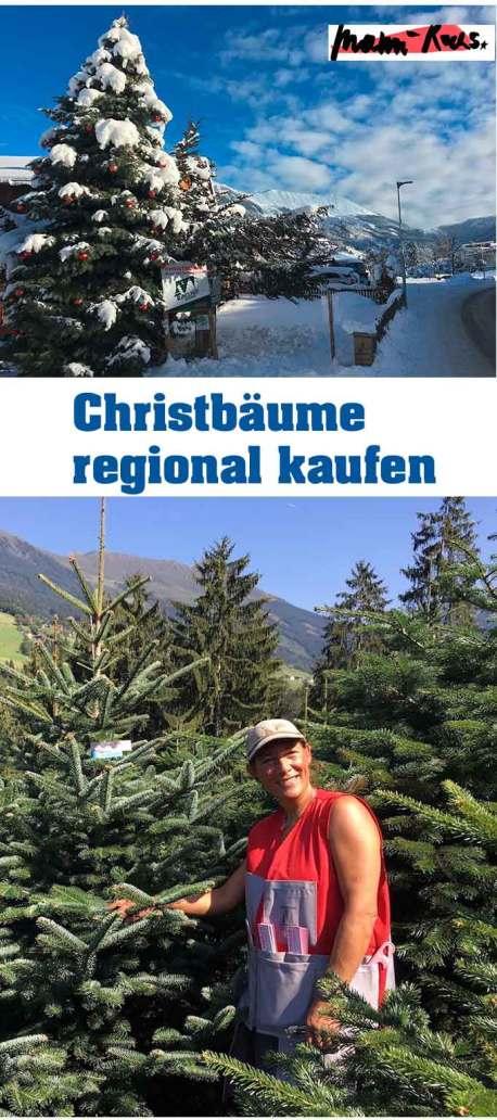 Christbaum regional kaufen