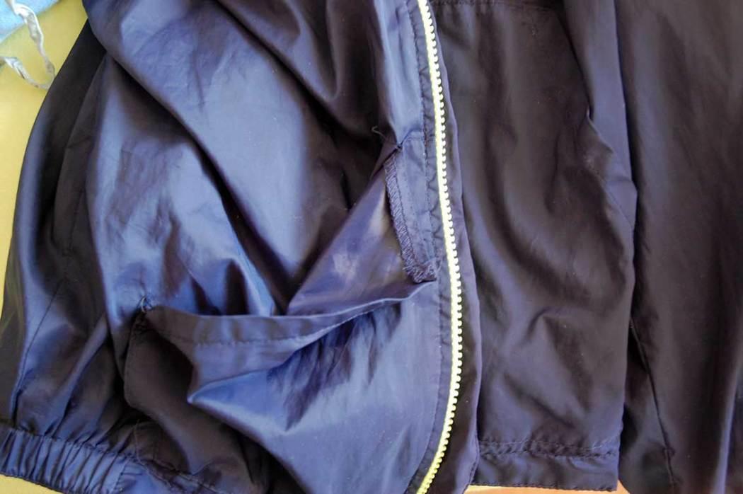 Tipps zum Flicken - Regenjacke