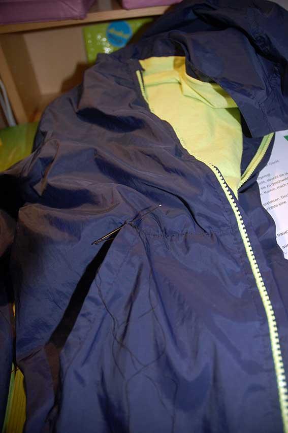 Tipps zum Flicken - ausgerissene Taschen