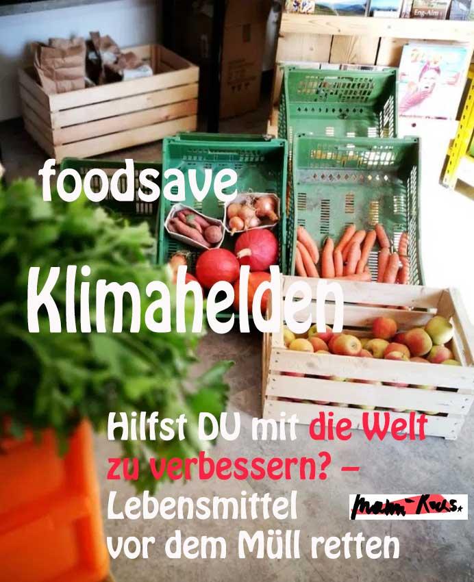 foodsave Klimahelden: Wie werde ich Lebensmittelretter*In?