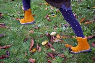 Kinderschuhe für Herbst und Winter