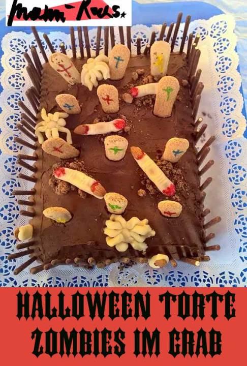 Halloween Rezept Grabkuchen
