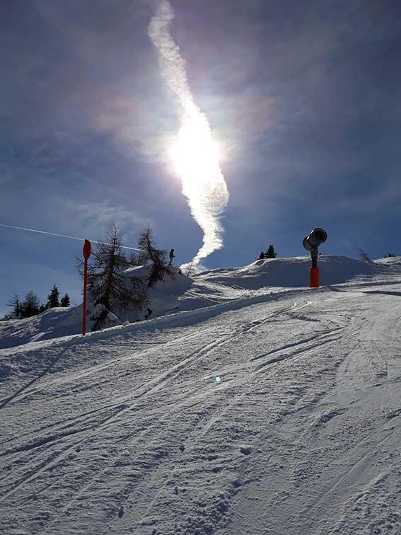 Mit den Öffis zum SkifahrenBergeralm