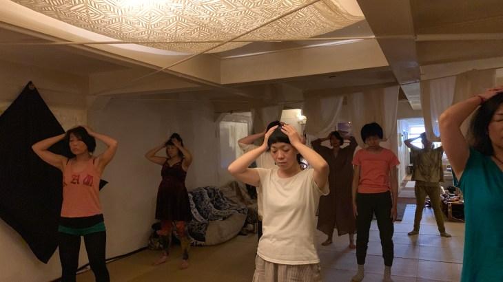 京都で<オージャスヨガ>とMarlynとのコラボ<声ヨガxチャクラヨガ>