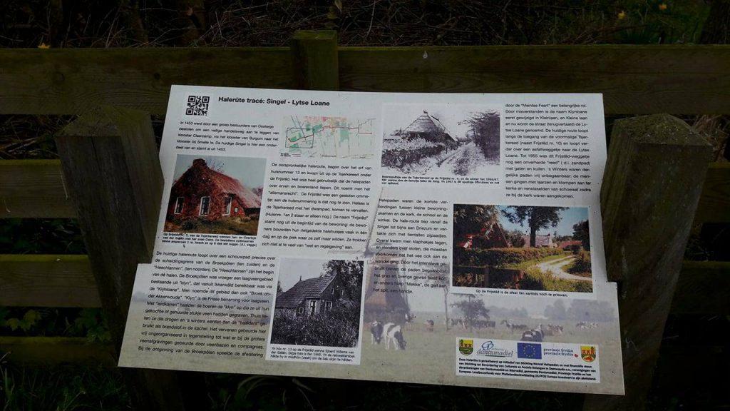 Wandelen over cultuur-historische Halepaden