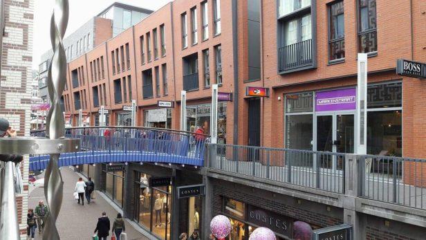 de hypermoderne Marikenstraat in Nijmegen, leukste winkelstraten