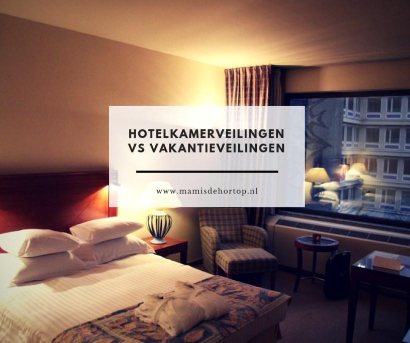 Hotelkamerveilingen vs vakantieveilingen