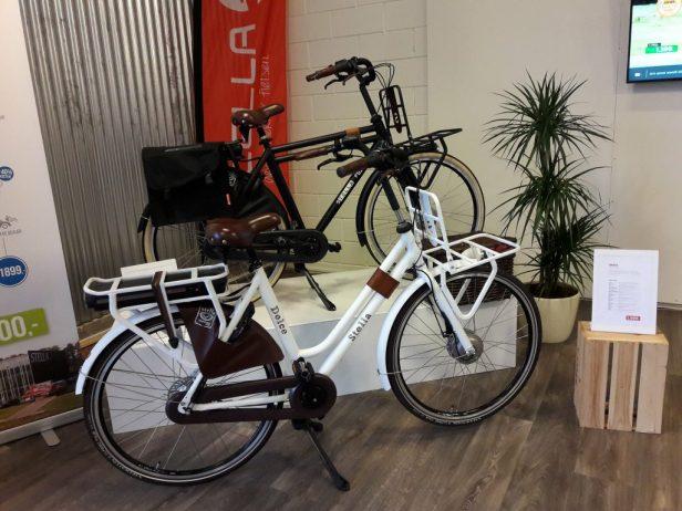 e-bikes in hippe modellen
