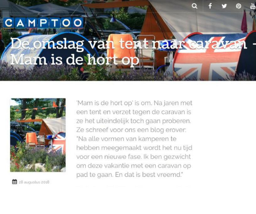Camptoo gastblog