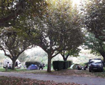 kamperen in het naseizoen