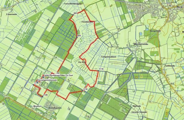 Wandeling in de voetsporen van het Pauperparadijs routekaart